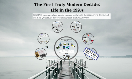 Copy of The First Truly Modern Decade: