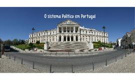 • O sistema Político em Portugal