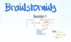 Brainstorming whiteboard