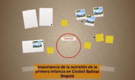 Importancia de la nutrición de la primera infancia en Ciudad