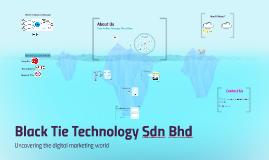 Black Tie Technology Sdn Bhd