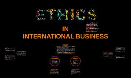 Ethics in IB