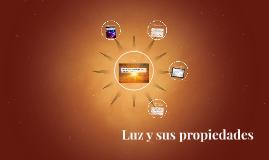 Luz y sus propiedades