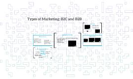 Types of Marketing B2C x B2B