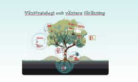 Växtfysiologi