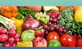 Food consumption patterns