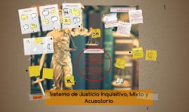 Copy of Sistema de Justicia Inquisitivo, Mixto y Acusatorio