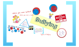 Copy of Bullying in Middle School