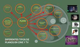 DIFERENTES TIPOS DE PLANOS EN CINE Y TV