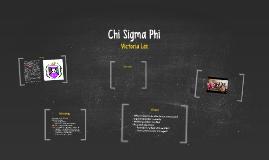 Chi Sigma Phi