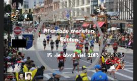 atentado maraton Boston