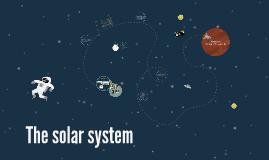 The solar sytem