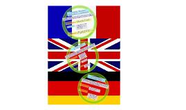 Tradiciones francesa, británica y alemana.