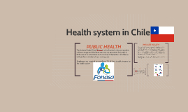 Health system in chile