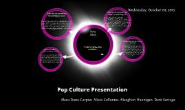 Pop Culture Presentation