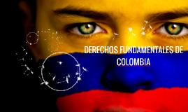 DERECHOS FUNDAMENTALES DE COLOMBIA