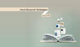 Novel Research Techniques