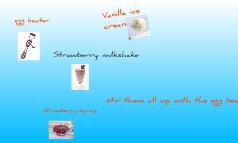 How i make a milkshake
