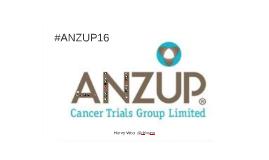 #ANZUP16 MDT MasterClass