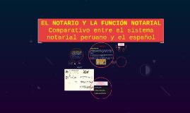 Copy of EL NOTARIO Y LA FUNCIÓN NOTARIAL
