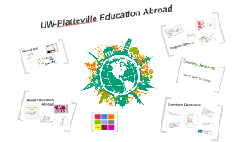 Robert- UW-Platteville Education Abroad