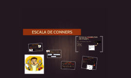 ESCALA DE CONNERS