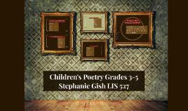 Children's Poetry Grades 3-5