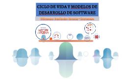 Copy of CICLO DE VIDA Y MODELOS DE DESARROLLO DE SOFTWARE