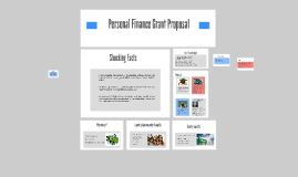 Personal Finance Grant Proposal