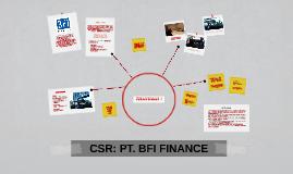 CSR: PT. BFI FINANCE
