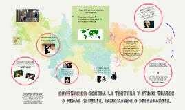 CONVENCION CONTRA LA TORTURA Y OTROS TRATOS