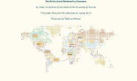 The Multicultural Mathematics Classroom