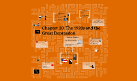 Chapter 20: The 1920s and the Great Depression