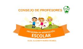 CONSEJO DE PROFESORES