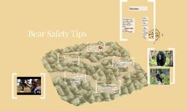 Copy of Bear Safety Tips