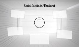 Social Media In Thailand