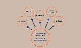 Ciencias Sociales y su Didáctica I