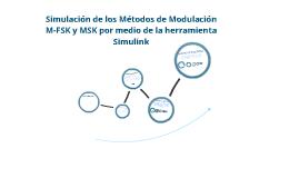 paper M-FSK MSK IMPLEMENTADO en SIMULINK