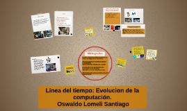 Copy of LINEA DEL TIEMPO: Evolución de la computacion o tecnologias