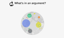 What's in an argument?