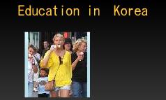 Education in  Korea