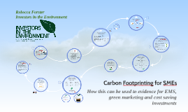 Carbon Footrprinting for SMEs