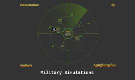 Military Simulations