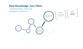 Slow Knowledge, Fast Clicking