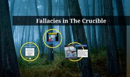 Fallacies in The Crucible