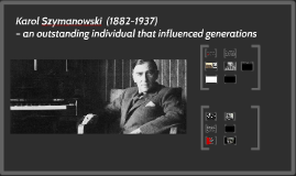 Karol Szymanowski – an outstanding individual that influence