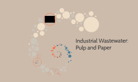 Industrial Waste water: