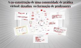 Qualificação Comunidades de Prática