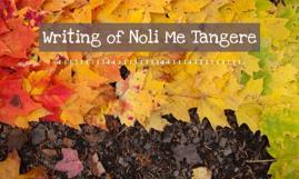 Copy of writing of noli me tangere