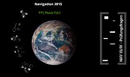 Navigation PPL II 2015 - 3 & 4